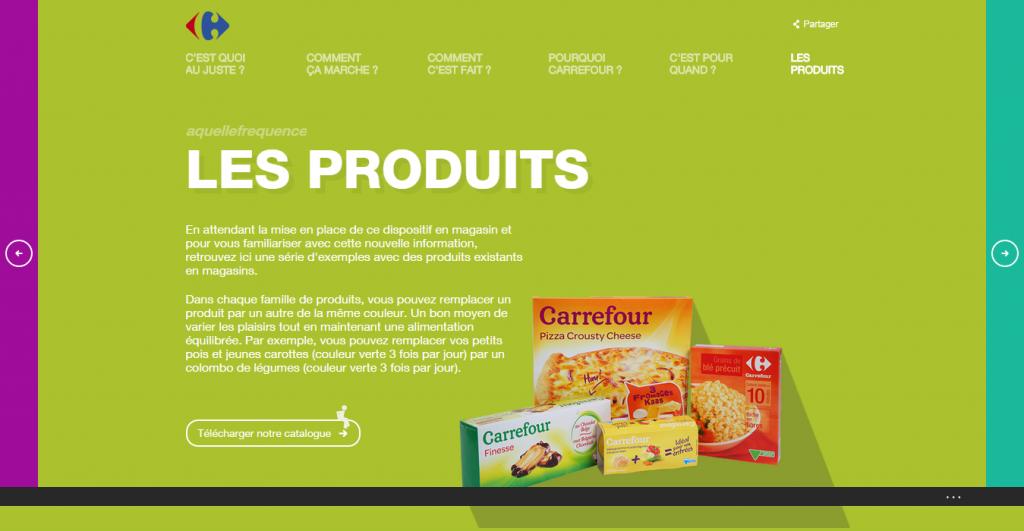 Les produits Carrefour
